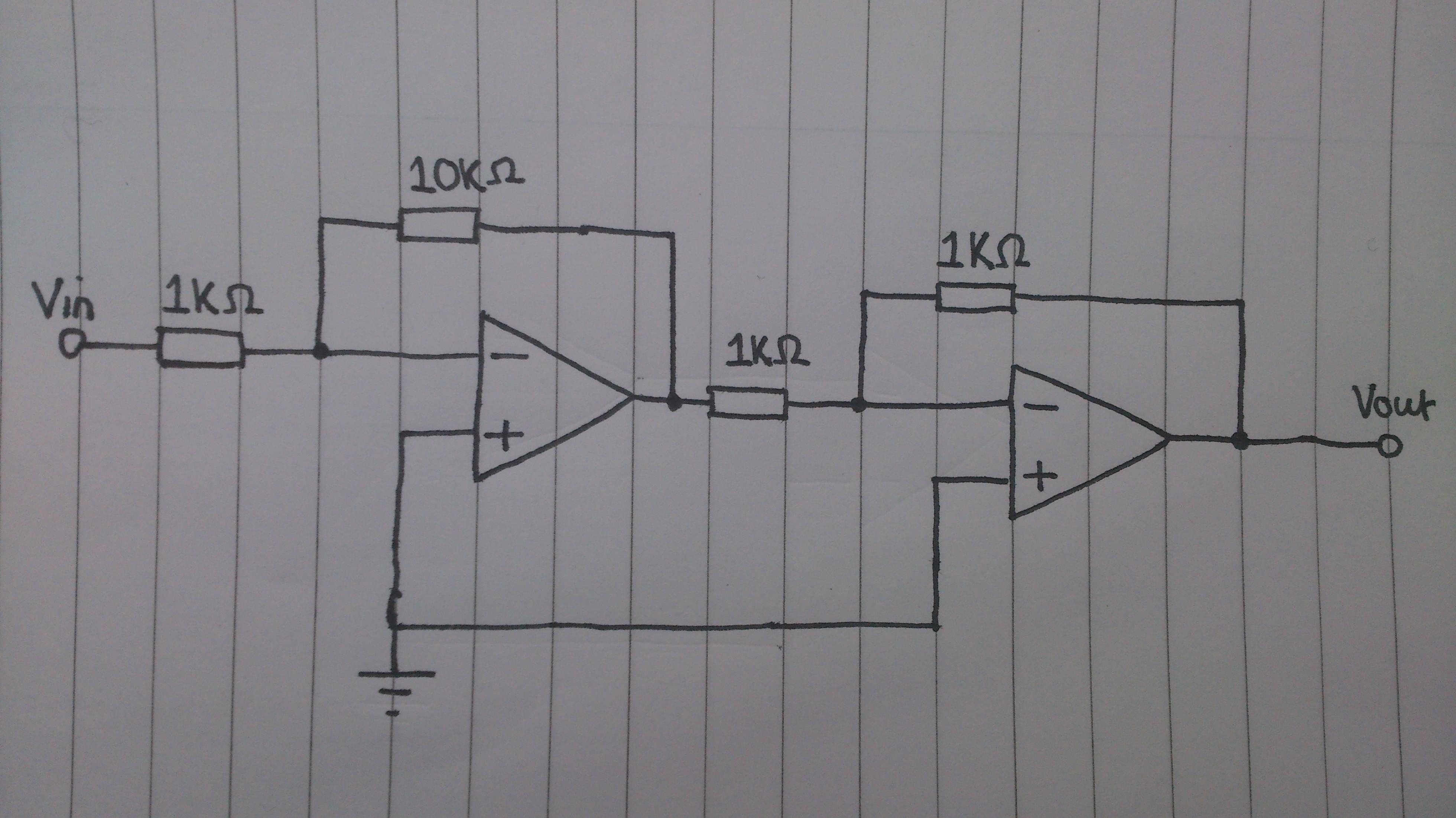 Op Amp Tphelectronics Opampinvertingamplifiercircuitpng Inverting Amplifiers In Series