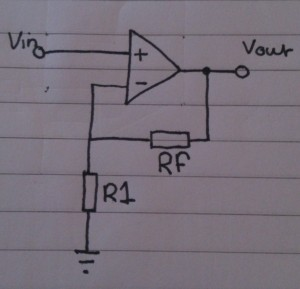 Non-inverting amplifier