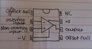 op amp schematic