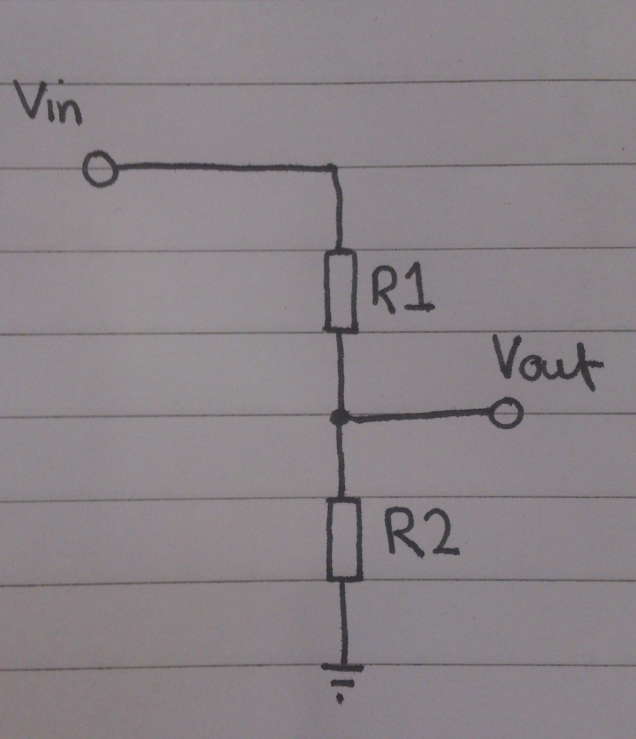 Basics Tphelectronics Voltage Divider Formula Potential
